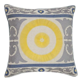 Sunshine Embroidered Pillow