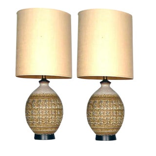 Lamps designed by Bob Kinzie For Sale