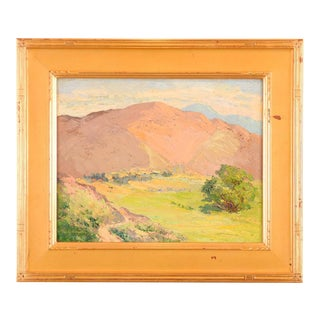 California Impressionist Oil Painting by Jessie Schlueter For Sale