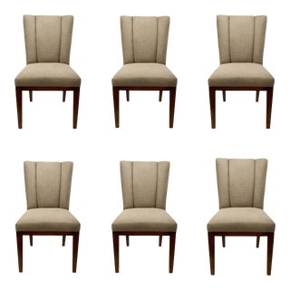 Barbara Barry for Henredon Gray Paley Dining Chairs For Sale