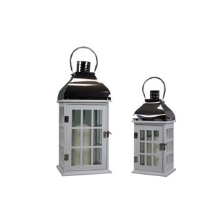 Lantern Welcome Door - a Pair For Sale