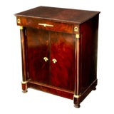 Image of French Empire William Switzer Mahogany Buffet Cabinet For Sale
