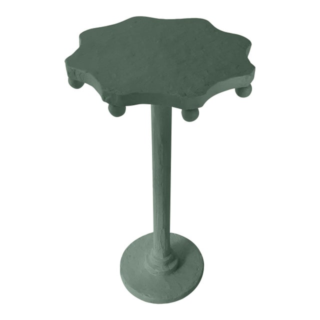 Contemporary Teatro Accent Table in Dakota Shadow For Sale - Image 3 of 3