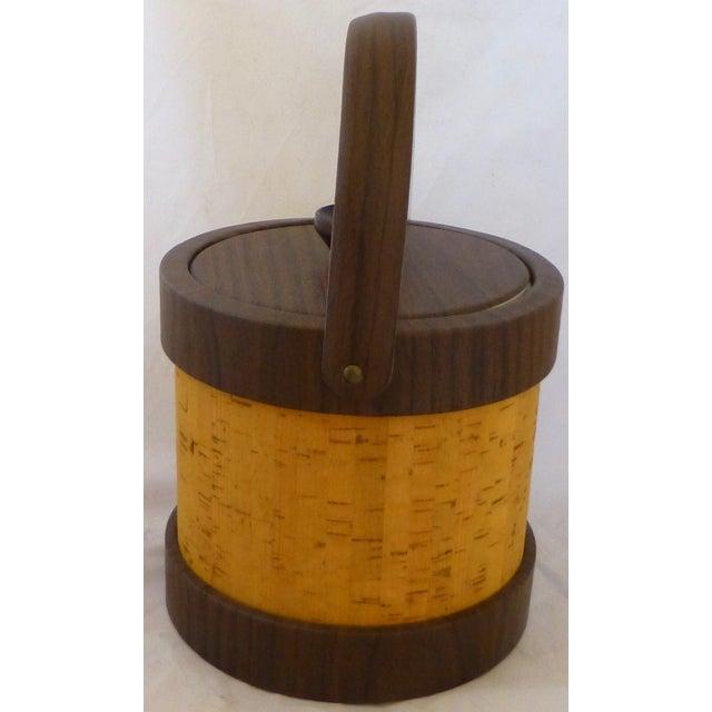 Vintage Cork Ice Bucket - Image 3 of 9