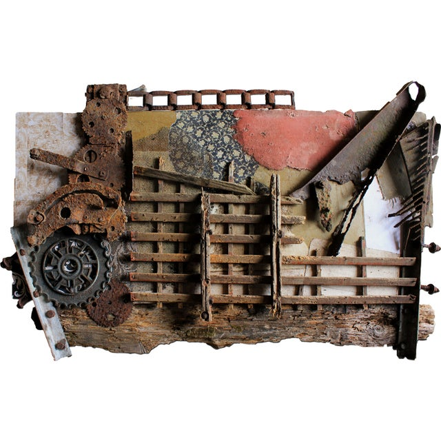 Vintage Industrial Wall Art -IV - Image 1 of 2