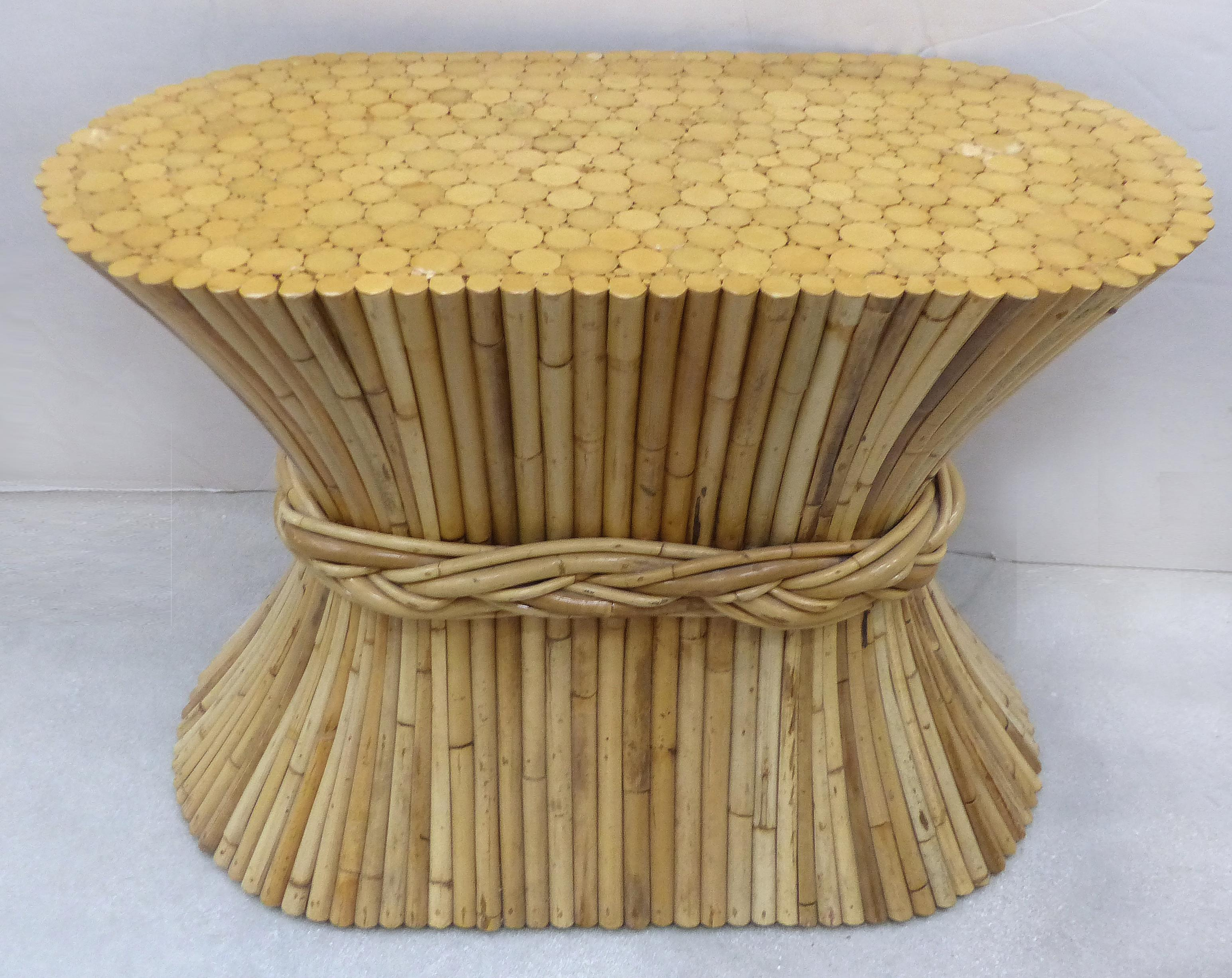 McGuire Rattan Table Base   Image 3 Of 10