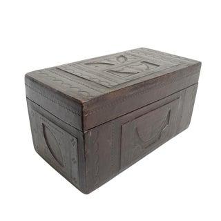 Tuareg Leather Box For Sale