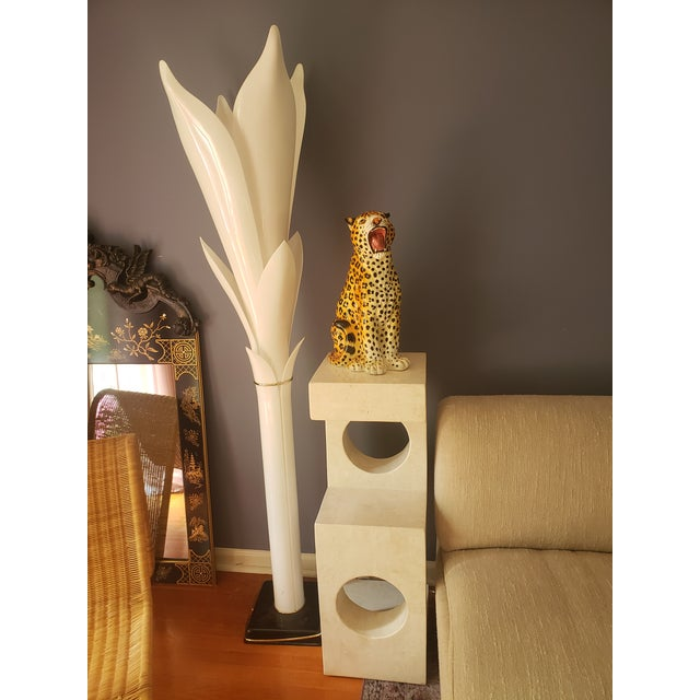 1980s Sculptural Tessellated Stone Display Pedestal For Sale - Image 9 of 13