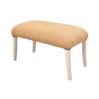 21st Century Vintage Gold Bench For Sale