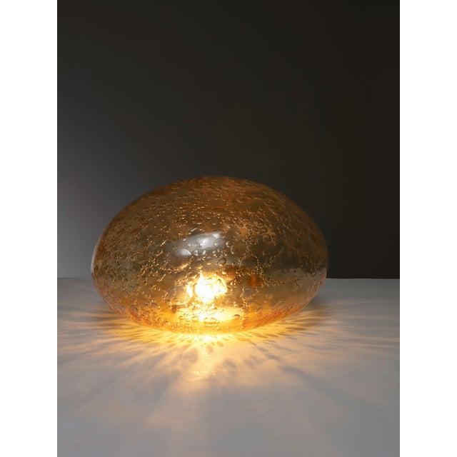 Modern Murano Glass Table Lamp by La Murrina For Sale - Image 3 of 4