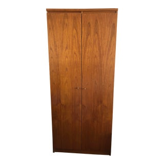 Danish Design Wood Armoire For Sale