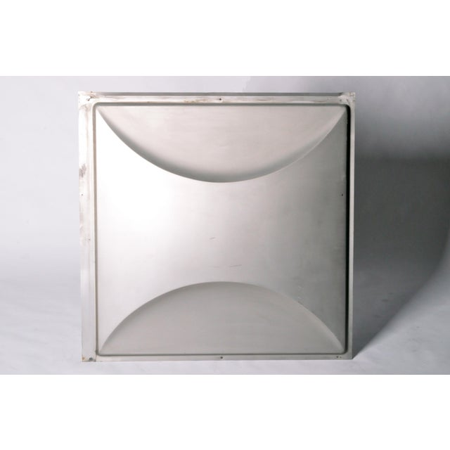 Vintage Aluminum Wall Panels- Set of 9 For Sale - Image 9 of 10