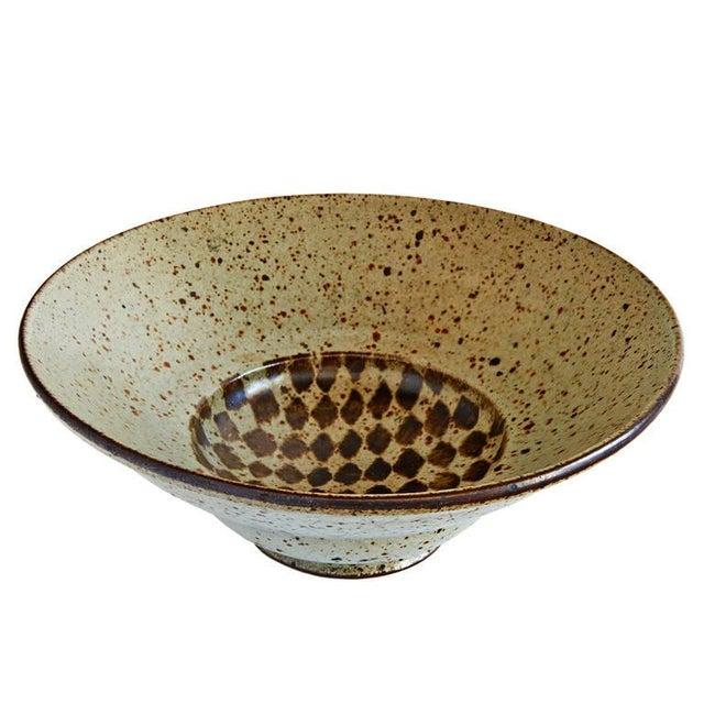 Tan Bowl by Antonio Prieto For Sale - Image 8 of 9