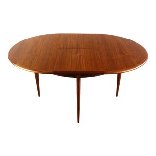 Niels Otto Moller for J. L. Moller #15 Teak Table with Butterfly Leaf For Sale