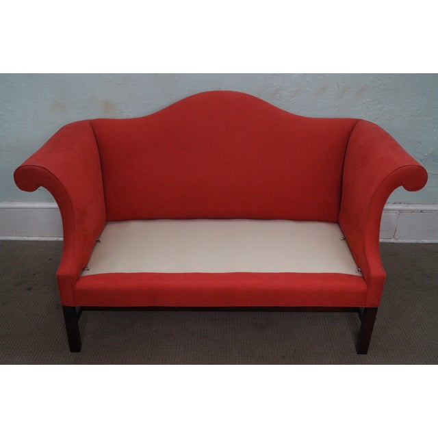 Kittinger Colonial Williamsburg Adaptation Chippendale Style Loveseat - Image 5 of 10