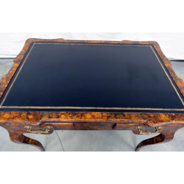 Mid 20th Century Directoire Style Leather Top Writing Desk For Sale - Image 5 of 9