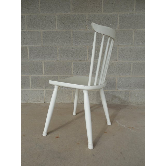 Paul McCobb Planner Group Factory Painted Side Chairs - Set of 5 - Image 4 of 7