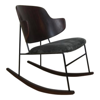 Ib Kofod Larsen Penguin Rocking Chair For Sale