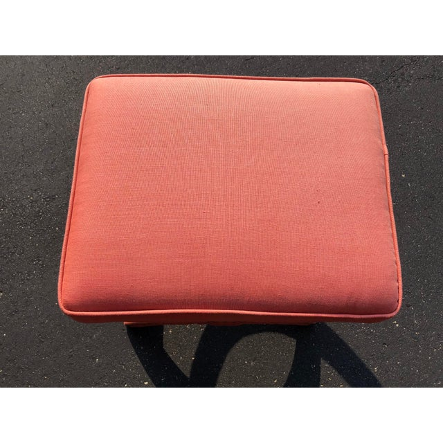 Pair Modern Decorator Stools For Sale - Image 9 of 11