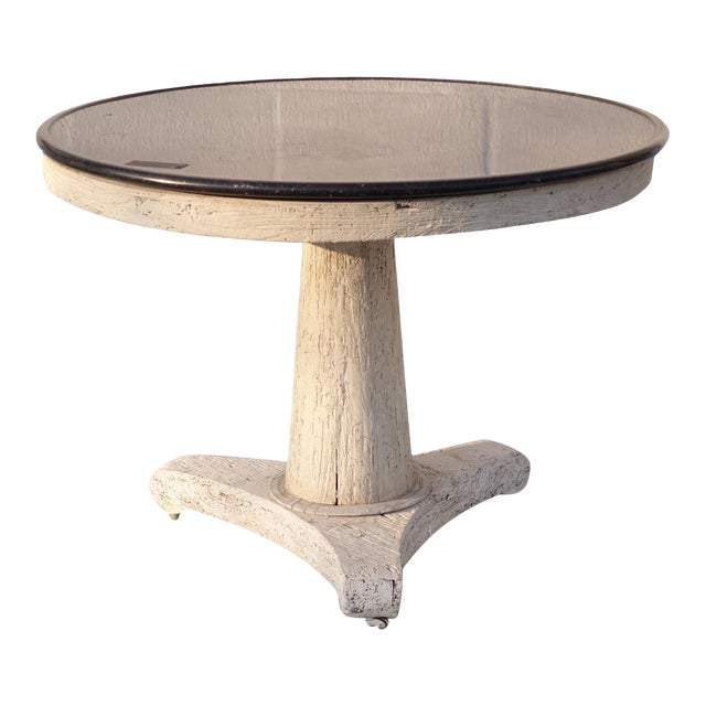 French Oak Pedestal Table For Sale