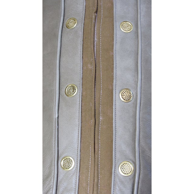 A. Rudin Leather Sofa - Image 7 of 10