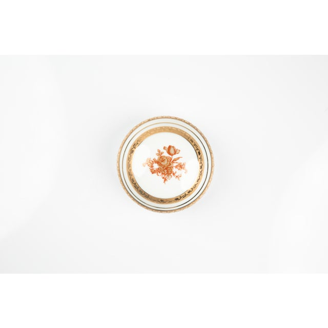 Art Deco Vintage Limoges France Little Jewelry or Pill Box For Sale - Image 3 of 9