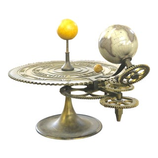 Early 20th Century Brass Globe Sundial For Sale