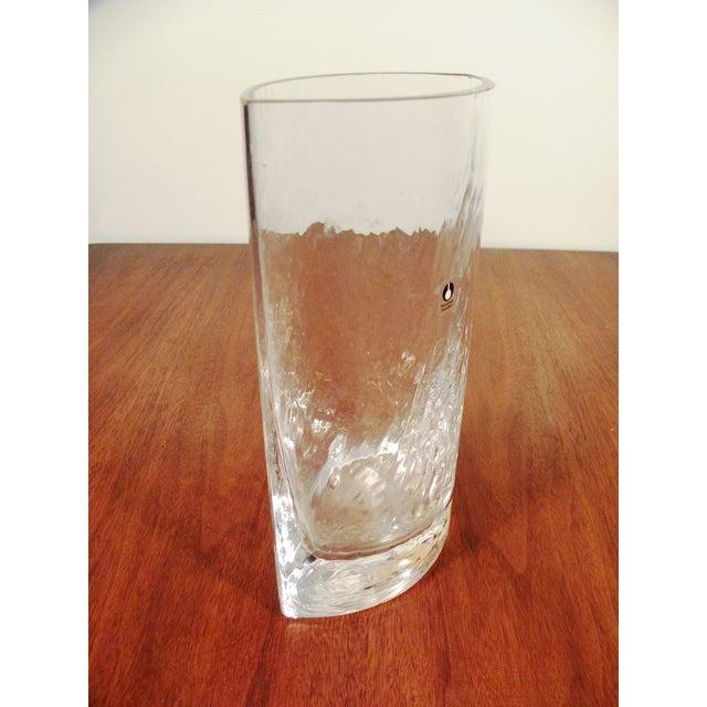Pukeberg Sweden Vintage Handmade Art Glass Vase - Image 3 of 7