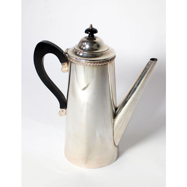 Vintage Crafton Sheffield England Sterling Silver Coffee or Tea Pot For Sale In Los Angeles - Image 6 of 6