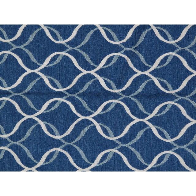 Stark Studio Rugs Stark Studio Rugs Contemporary Linen Soumak Rug - 6′1″ × 8′11″ For Sale - Image 4 of 4