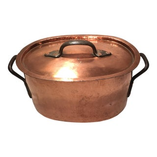 19th Century American Copper Pot