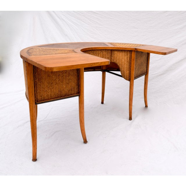 Demi Lune Cocktail/Hunt Table For Sale - Image 10 of 13