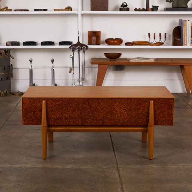 Brown Saltman Single Bench With Storage by John Keal for Brown Saltman For Sale - Image 4 of 12