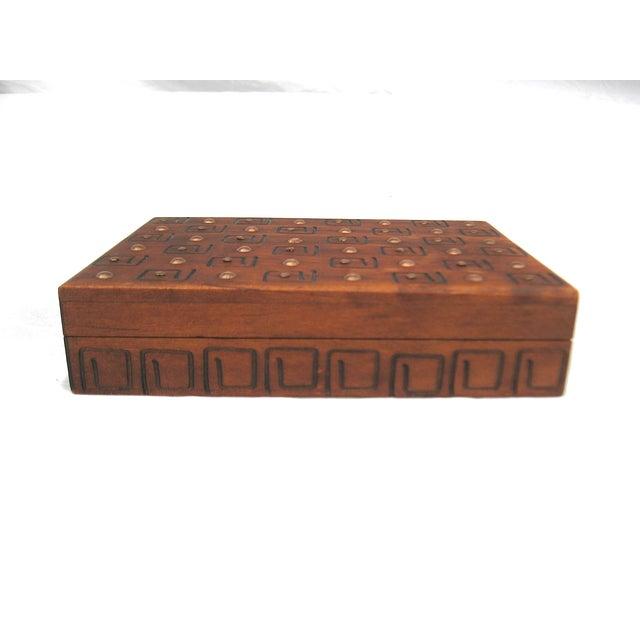 Hand Carved Trinket Box - Image 2 of 6