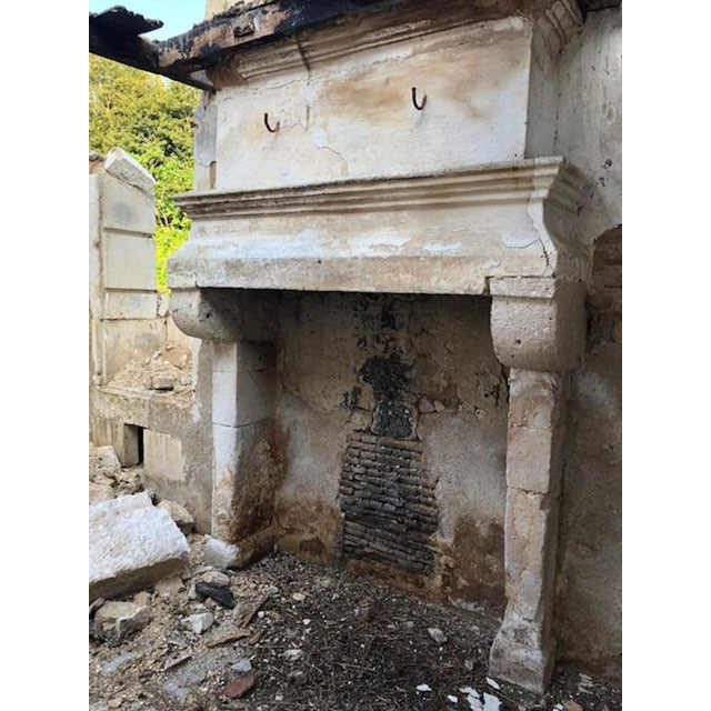 17th Century Antique Mantel For Sale - Image 10 of 11
