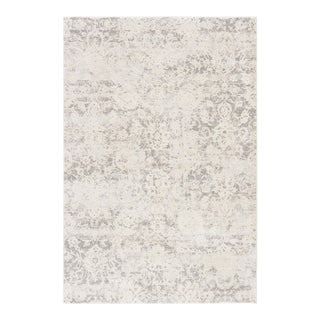 Jaipur Living Alonsa Abstract Gray White Area Rug 12'X15' For Sale
