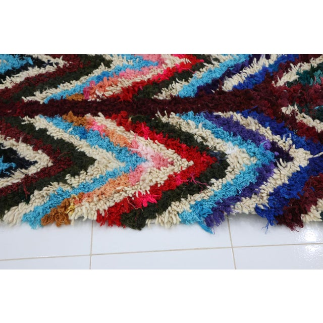 """1960s 1980s Vintage Azilal Rug- 2'7"""" X 5'5"""" For Sale - Image 5 of 6"""