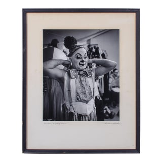 Al White, Ringling Bros. Circus Clown Photograph by Richard Stacks