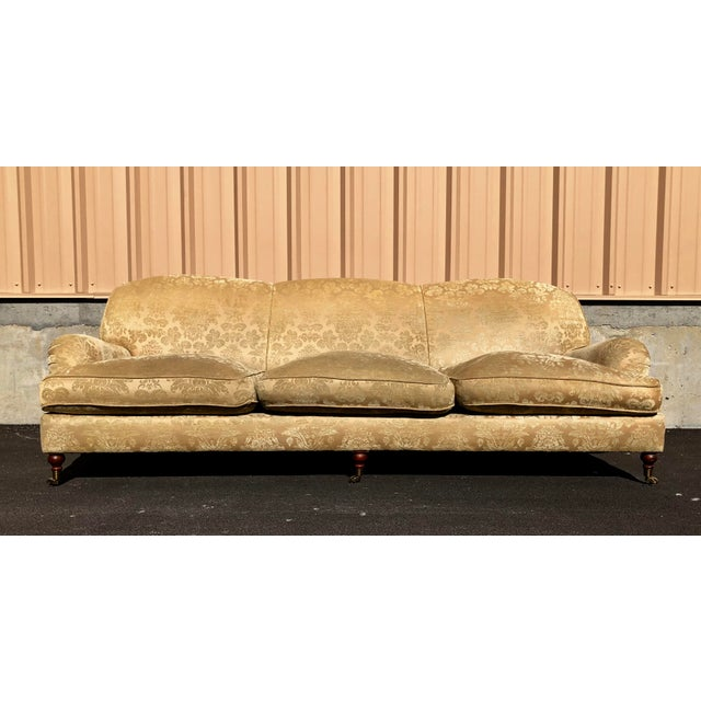 Modern Ralph Lauren Damask Wyman Sofa For Sale - Image 9 of 9