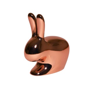 Qeeboo, Rabbit Chair Baby Metal Finish, Copper, Indoor/Outdoor, Stefano Giovannoni, 2017 Preview