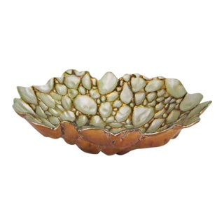 Italian Art Glass Bowl For Sale