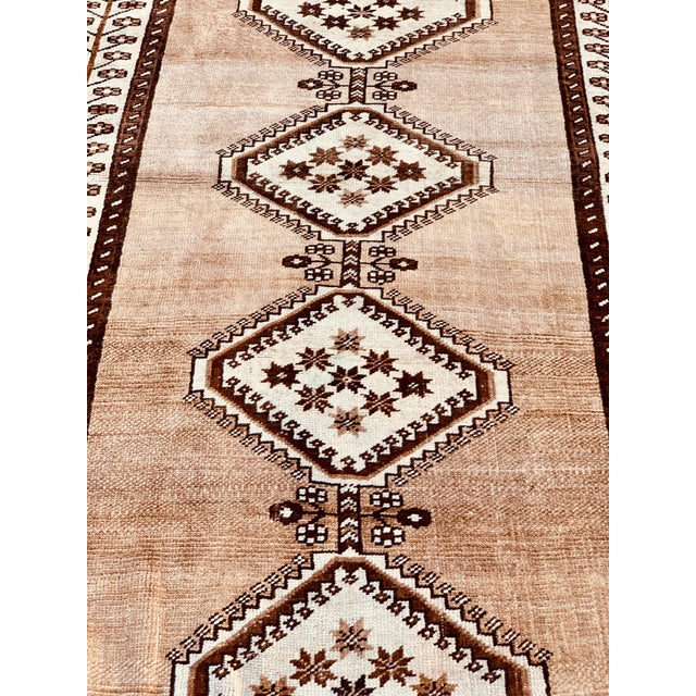 "1950's Vintage Persian Gabbeh Area Rug 4'x7'9"" For Sale - Image 4 of 13"