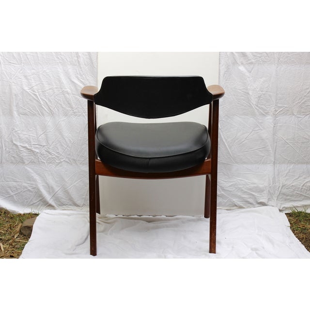 Erik Kirkegaard Mid-Century Danish Desk Chair - Image 7 of 7