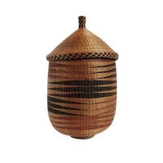 Old Tutsi Rwanda Basket For Sale