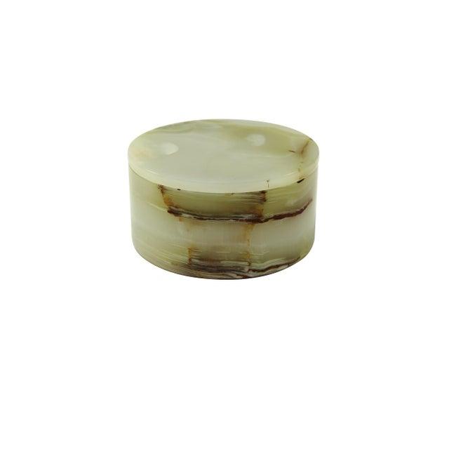 Modern Light Green Keepsake Box For Sale - Image 3 of 3