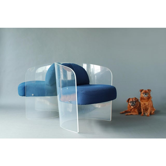 We are currently offering complimentary contact-free, local curbside delivery of this item. Single Lucite panel frame,...