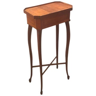 19th Century Biedermeier Drinks Side Table For Sale