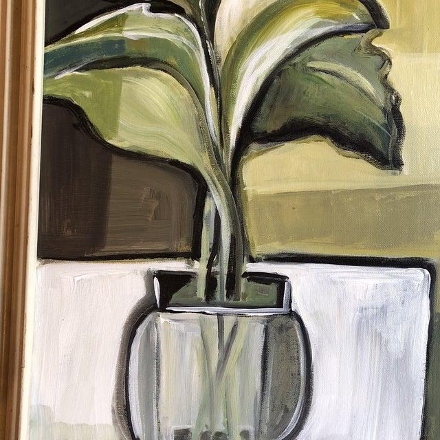 Original Stewart Ross Modernist Still Life Painting For Sale - Image 4 of 7