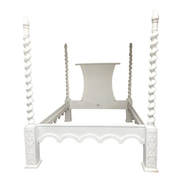 French Four Poster Queen Sized Bed - Image 1 of 8