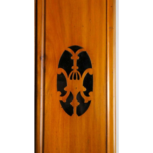 Early 20th Century Early 20th Century Antique Aesthetic Movement Mirrored Wardrobe For Sale - Image 5 of 12